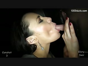 Sexy Brunette Lady Oral...
