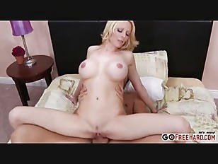 Busty Blonde Holly Sampson...