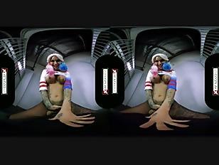 VR Cosplay X Fuck Kleio Valentien As Harley Quinn VR Porn