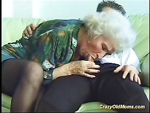 Busty Crazy Old Milf...