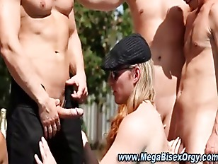 Mmf Nasty Bi Orgy Heats Up