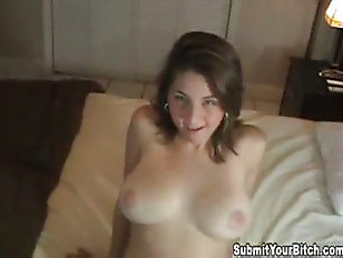 Picture Brunette With Great Tits Fucked