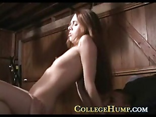 College Cock Riding Coed...