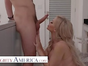 Naughty America - Casca Akashova fucks the neighbor's son