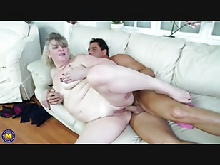 British chubby mature lady...
