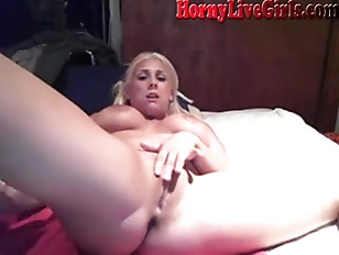 Hot Blonde Big Tits...
