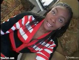 Ebony Cheeleader With Big...