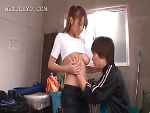 Asian teen Beauty Getting...