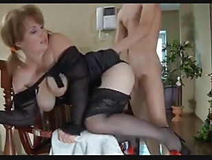 Milf and Hungry Boy...