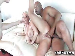 Sophie Dee and her big tits getting fucked hard by a black cock by KatieKoxs