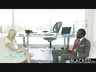 BLACKED Hot Assistant Odette...