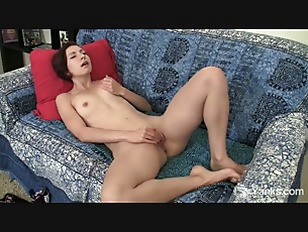 Redhead Amateur Anja Masturbating...