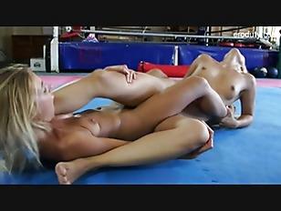 Wrestling And Tribbing Hot...