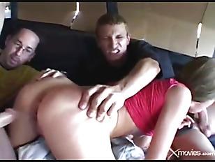 Big brutal dildo fuck