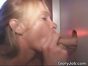 Blonde Slut Sucking Dick...