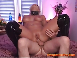 Picture Hot Blonde Woman Enjoy A Large Cock