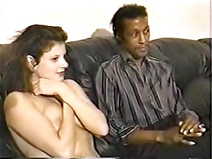 Picture Black Maarq Teaching Brunette To Suck Cock