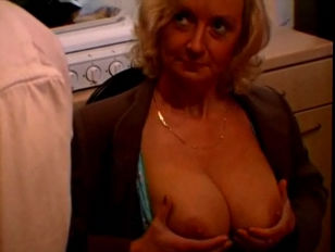 Picture French Blonde Mature With Big Boobs And Youn...