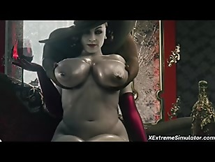 MILF Lady Dimitrescu sex compilation