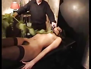 Picture Hairy Girl Punished With Nettles