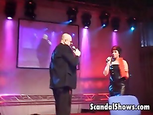 Picture Busty Blonde Striper Dances Like A Slut
