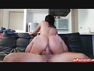 Picture Colombian Chick With Big Ass Films Her First...