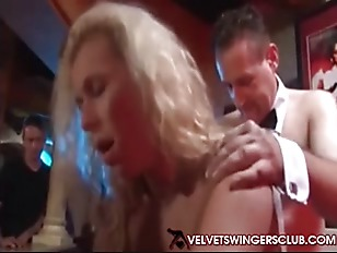 Velvet Swingers Club party...