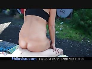 image Philavise milfs alyssa lynn sits on a big cock in public