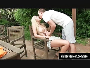 Blonde teen Christen Take...