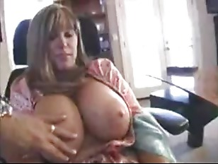 Blonde With Huge Tits Gives Great Head