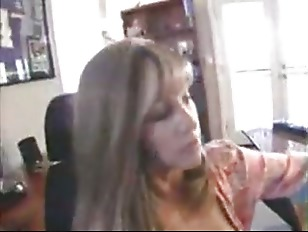 Picture Blonde With Huge Tits Gives Great Head