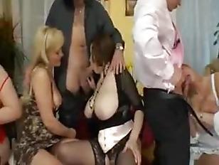 Crazy MILF Orgy Part...