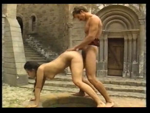 Andrea molnar fucked in medieval castle - 1 part 9