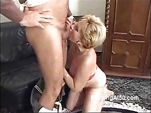 Picture Horny Blonde Granny Blows A Cock And Moans W...