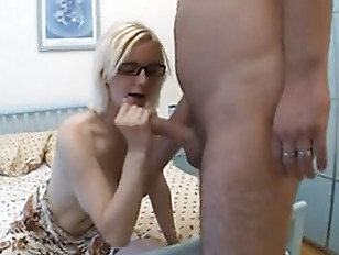 Picture Hand And Blowjob For A Busty Blonde