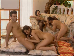 Michelle Wild Foursome...