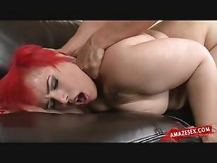 Redhead Fatty Hard Fuck...