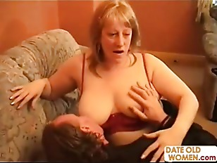 Old Man And Old Woman Have A Hardcore Fucking Session