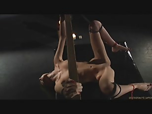 Picture Young Blonde Fucked Hard In Bondage