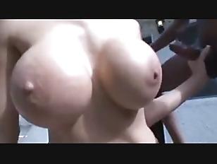 Picture Brunette Big Boob Slut Fuck By 2 Bbc