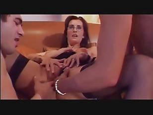 Mature Lady Threesome...