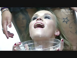 Picture Premium Bukkake - Angela Swallows 90 Huge Mo...