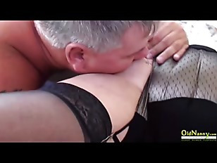 OldNannY Two British Matures Lesbian Toying