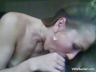 Picture Real MILF Gives A Funny Blowjob And Handjob