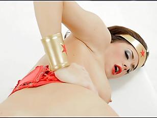 Chanel Preston Wonder Woman POV upscale