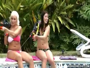 Picture Brandi Belle Fun With The Pool Boys Part 1