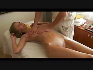 Cute Blonde Fantasy Massage...
