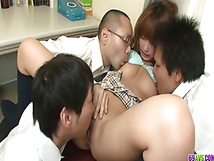 Picture Three Guys Fuck And Creampie Sana Anju Young...