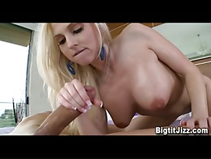 Picture Blond Girl With Big Tits Gets Cummed In