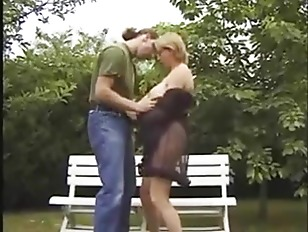 Picture French MILF Wants It On The Park Bench